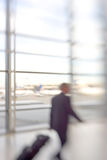 At the airport - lens blurred Royalty Free Stock Image