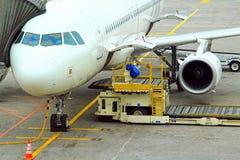Airport loader Royalty Free Stock Photos