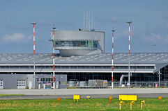Airport Lodz, Poland Royalty Free Stock Photo