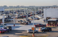 Airport Long Term Parking Stock Photos