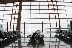 Airport lounge Royalty Free Stock Photo