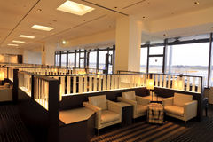Airline Lounge Narita Japan Stock Photo