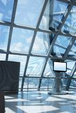 Airport lounge Royalty Free Stock Image