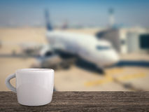 Airport lounge concept stock photo