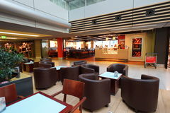 Airport lounge are interior Royalty Free Stock Image