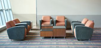 Airport Lounge Seating Stock Photos