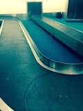 Airport luggage carousel Royalty Free Stock Photography