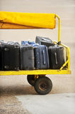 Airport luggage transportation Royalty Free Stock Photography