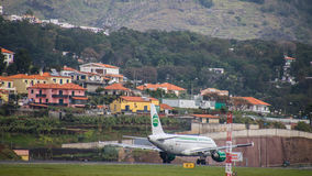 Airport Madeira Cristiano Ronaldo Stock Photo