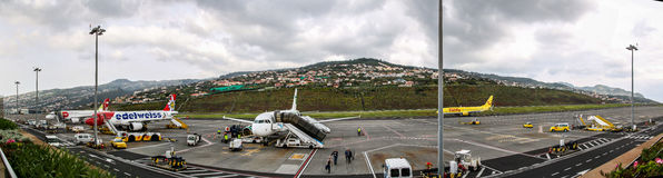 Airport Madeira Cristiano Ronaldo Stock Photos