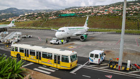 Airport Madeira Cristiano Ronaldo Royalty Free Stock Photography