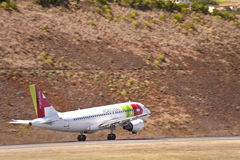 Airport of Madeira Royalty Free Stock Photo