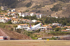 Airport of Madeira Royalty Free Stock Images