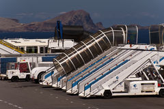 Airport of Madeira Stock Photos