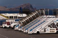 Airport of Madeira Stock Photos