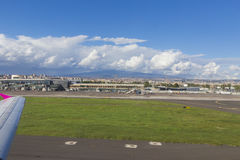 Airport. Main building from Catania airport, Italy Royalty Free Stock Photography