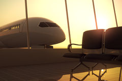 Airport. Royalty Free Stock Photo