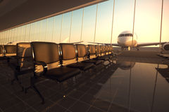 Airport. Royalty Free Stock Images