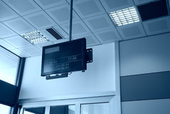Airport monitor Royalty Free Stock Images