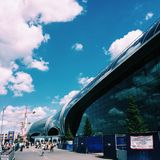 Airport of Moscow Russia royalty free stock images