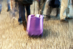 Airport in movement Royalty Free Stock Photography
