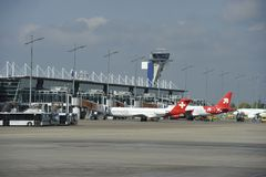 Airport Nuremberg, Germany Royalty Free Stock Image