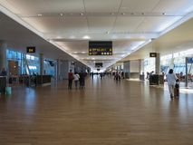 Airport in Oslo Stock Photography