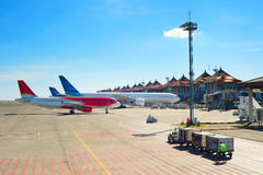Airport overview Royalty Free Stock Images
