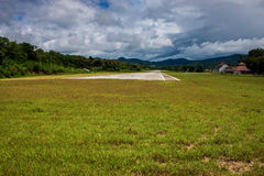 Airport in Pai Royalty Free Stock Images