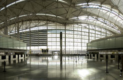 Airport panorama C Royalty Free Stock Images