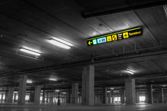 Airport Parking Royalty Free Stock Image