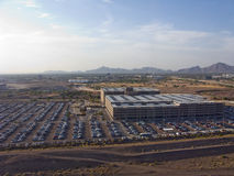 Airport Parking, Phoenix, AZ Royalty Free Stock Photo
