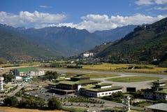 Airport, Paro, Bhutan Stock Photography