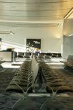 Airport passenger waiting area Royalty Free Stock Photography