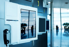 Airport Payphone Stock Image