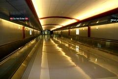 Airport Pedestrian Area Stock Photography