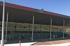 Airport Plovdiv - new terminal Royalty Free Stock Photos