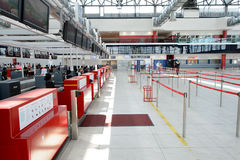 Airport of Prague interior Stock Photography