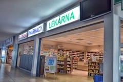 Airport of Prague interior Royalty Free Stock Photos