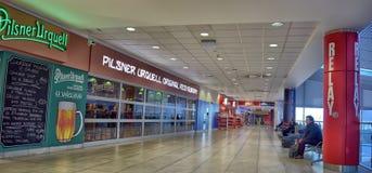 Airport of Prague interior Stock Images