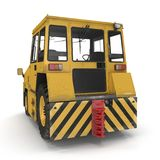 Airport Push Back Tractor Hallam HE50. 3D illustration Royalty Free Stock Image