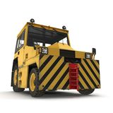 Airport Push Back Tractor Hallam HE50. 3D illustration Stock Image