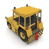 Airport Push Back Tractor Hallam HE50. 3D illustration Royalty Free Stock Photography