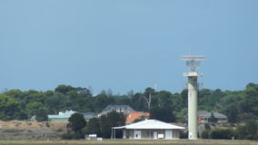 Airport radar stock video footage