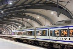 Airport Rail Link Phaya Thai Station Stock Photos