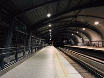 airport raillink stock photo