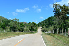 Airport Road Coron Island Royalty Free Stock Image