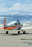 Airport in the Rockies Stock Images