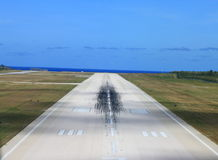 Airport runway Stock Photos