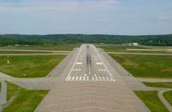 Airport Runway Royalty Free Stock Photography